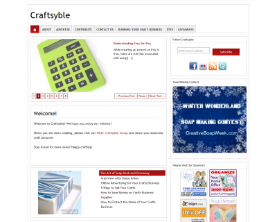 New Website Launch: Craftsyble